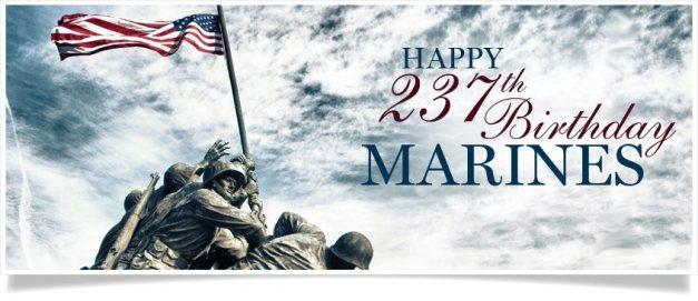 Happy Birthday to America's Marines!